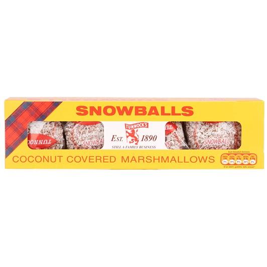 Tunnocks Coconut Snowballs 4 Pack 30g