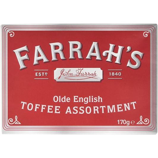 Farrah's Olde English Toffee Assortment Box 170g