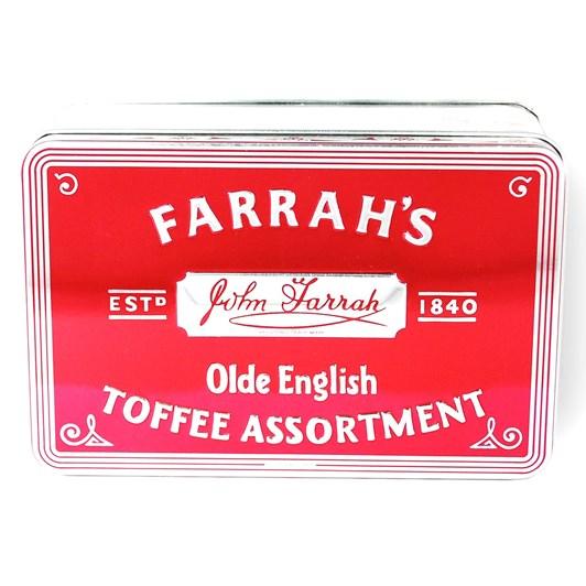 Farrah's Olde English Toffee Assortment Tin 227g