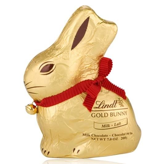 Lindt Gold Milk Chocolate Bunny 200g