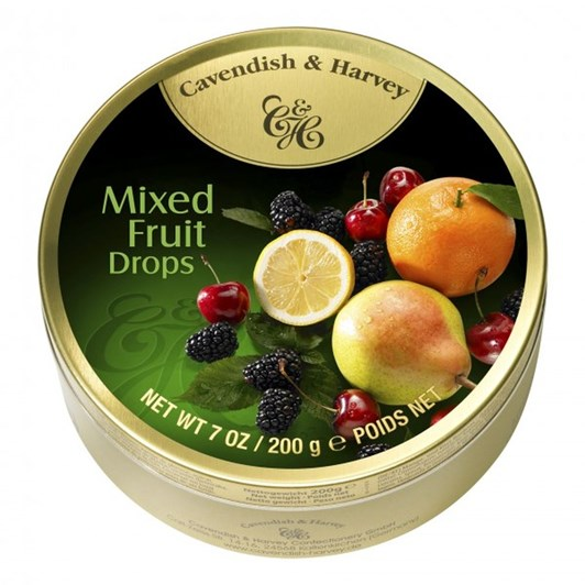 Cavendish and Harvey Mixed Fruit Drops 200g