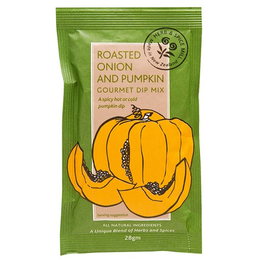 Herb and Spice Mill Roasted Onion and Pumpkin Dip 25g
