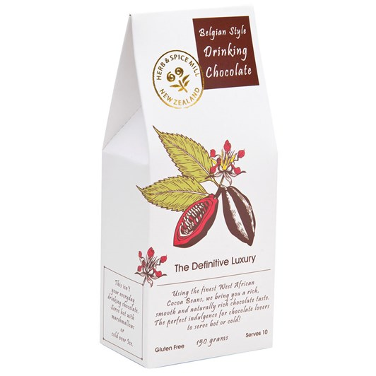 Herb and Spice Mill Belgian Style Drinking Chocolate 150g