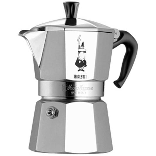 Bialetti Moka Express 6 Cup Italian Metal Stovetop Coffee Maker