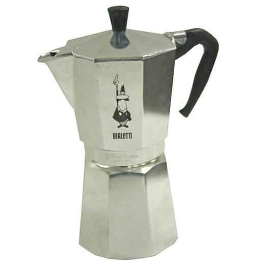 Bialetti Moka Express 12 Cup Italian Stovetop Metal Coffee Maker