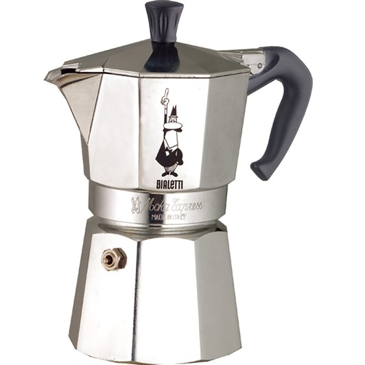 Bialetti Moka Express 18 Cups Italian Metal Stovetop Coffee Maker