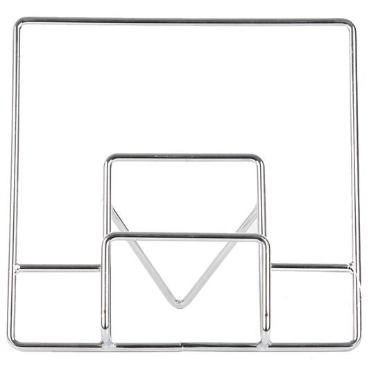 Chrome Kitchen Square Wire Cook Book Holder