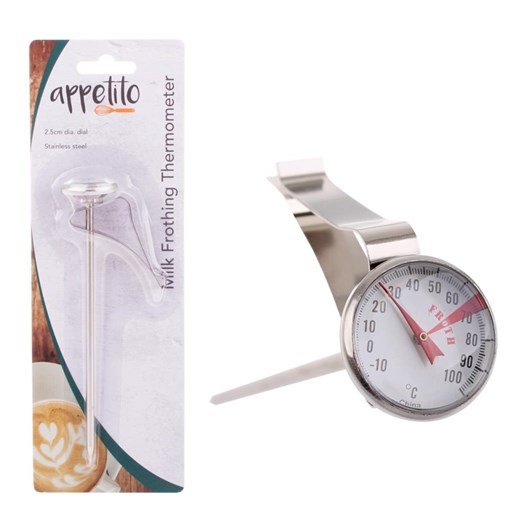 D.Line Stainless Steel Milk Frothing Thermometer
