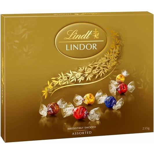 Lindt Lindor Assorted Chocolates 235g