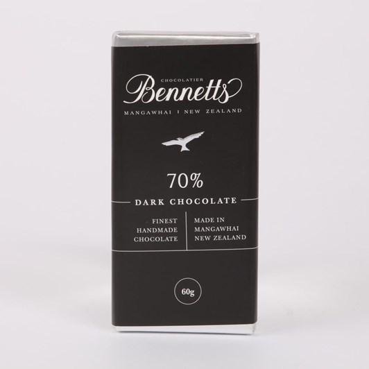 Bennetts of Mangawhai Dark Chocolate Bar 60g