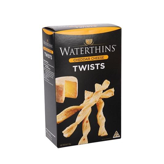 Waterthins Classic Cheddar Twists 110g