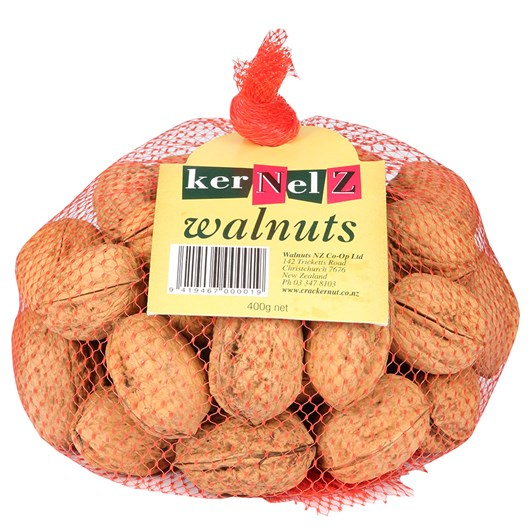 Kernelz Walnuts in Shell 400g