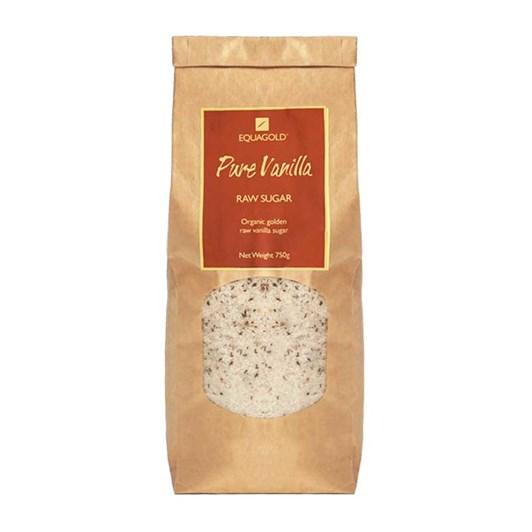 Equagold Organic Vanilla Raw Sugar 750g