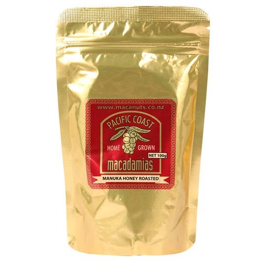 Pacific Coast Macadamias - Manuka Honey Roasted Macadamias 100g