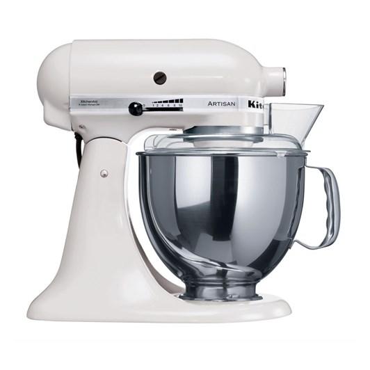 KitchenAid KSM150 White Artisan Mixer