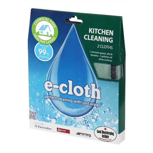 E-Cloth Kitchen/Bathroom Twin Pack
