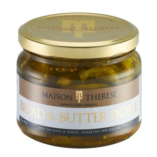 Maison Therese Bread and Butter Pickles 340g