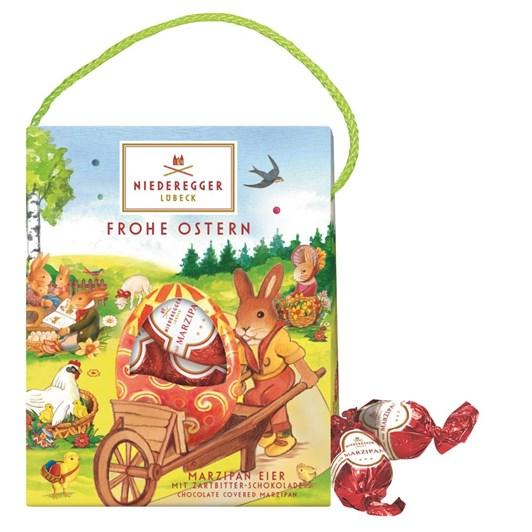 Niederegger Lubeck Marzipan Dark Chocolate Easter Eggs 85g