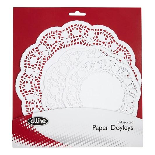 D.Line Paper Doyleys 18 Assorted