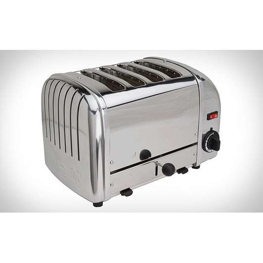 Dualit Stainless Steel 4 Slice Toaster
