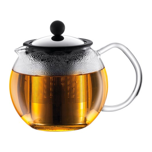 Bodum Assam Tea Press with Stainless Steel Filter - 4 Cup, 0.5L, 17oz