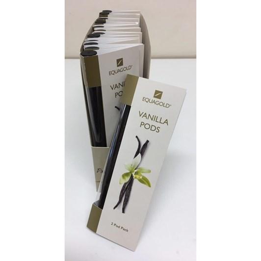 Equagold Vanilla Pods 2 Pack
