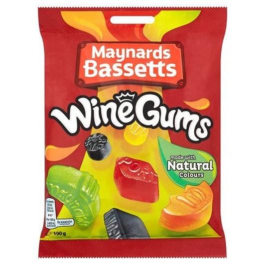 Maynards Wine Gums Bag 190g