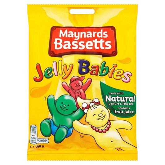 Bassetts Jelly Babies Bag 190g