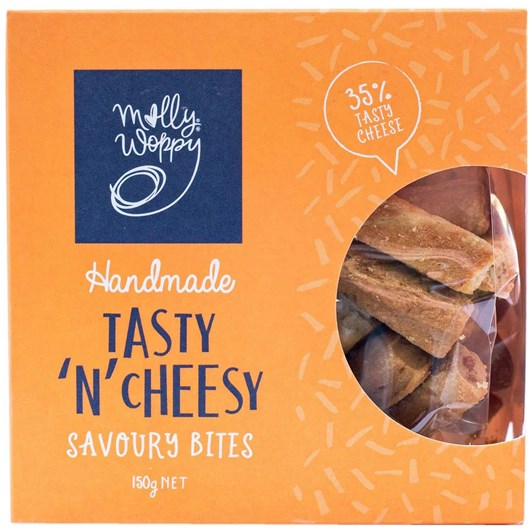 Molly Woppy Tasty 'N' Cheesy Savoury Bites 150g