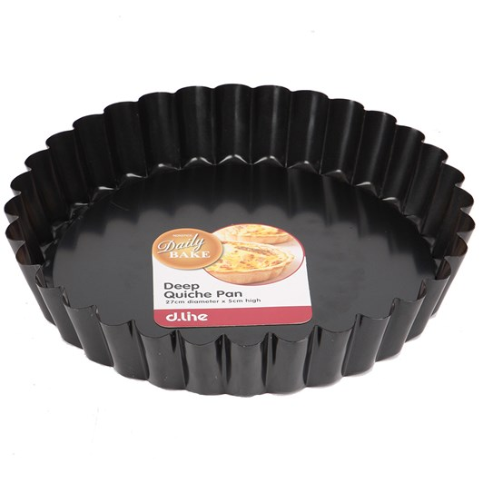 D.Line Deep Nonstick Quiche Pan