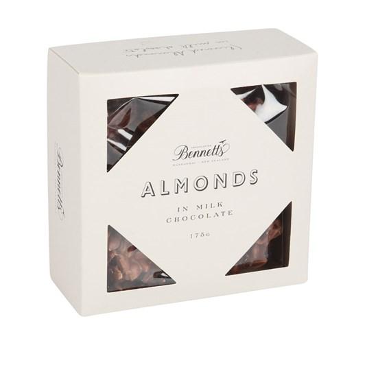 Bennetts of Mangawhai Milk Chocolate Almonds 175g