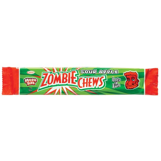 Zombie Chew Apple Candy 28g
