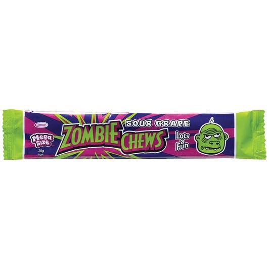 Zombie Chew Grape Candy 28g