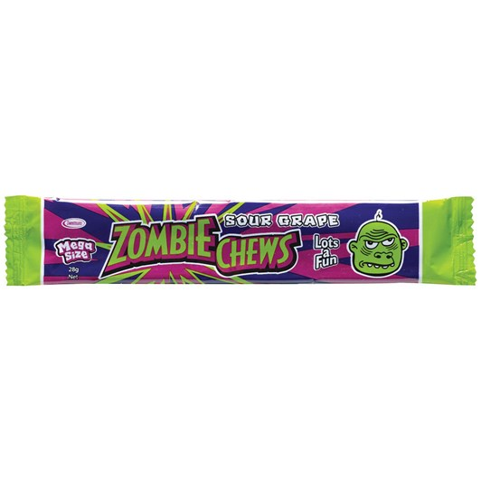 Zombie Chew Grape Candy 28g