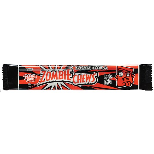 Zombie Chew Sour Cola Candy 28g