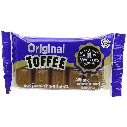 Walkers Original Nonsuch Toffee Bar 100g