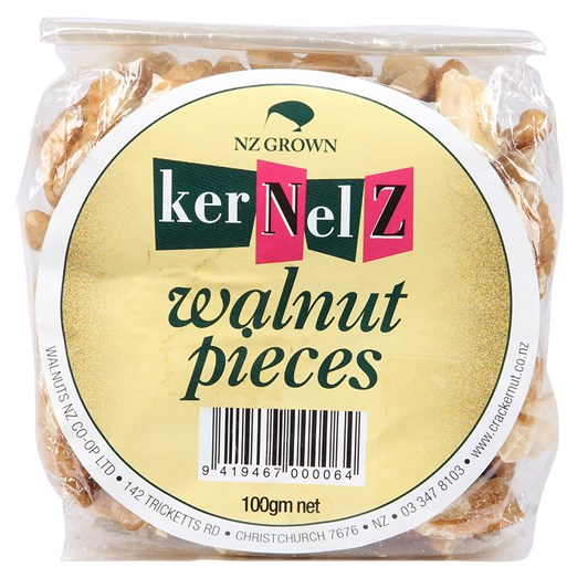 Kernelz Walnut Pieces 100g
