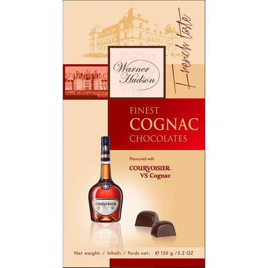 Warner Hudson Cognac Chocolates 150g