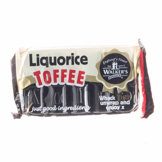 Walkers NS Toffee Bar Liquorice 100g