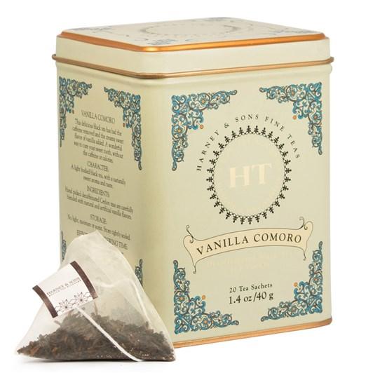 Harney & Sons Vanilla Comoro HT Tin 20 Sachets
