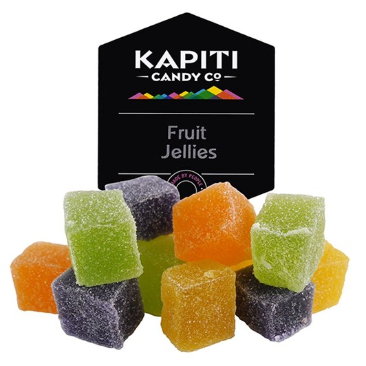 Kapiti Candy Fruit Jellies 140g