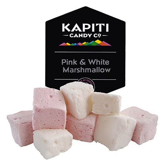 Kapiti Candy Co Pink and White Marshmallow 180g