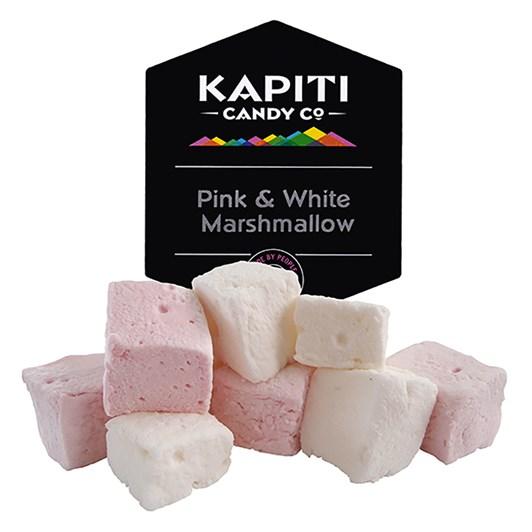 Kapiti Candy Co Pink and White Marshmallow 160g