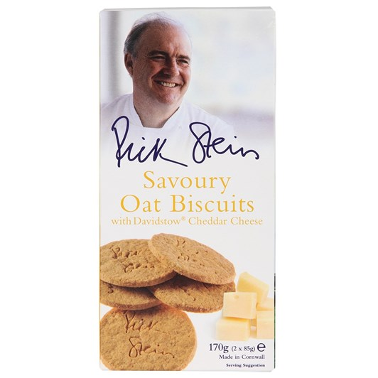 Furniss Cornwall Rick Stein Oat Biscuits with Davidstow Cheddar Cheese 170g