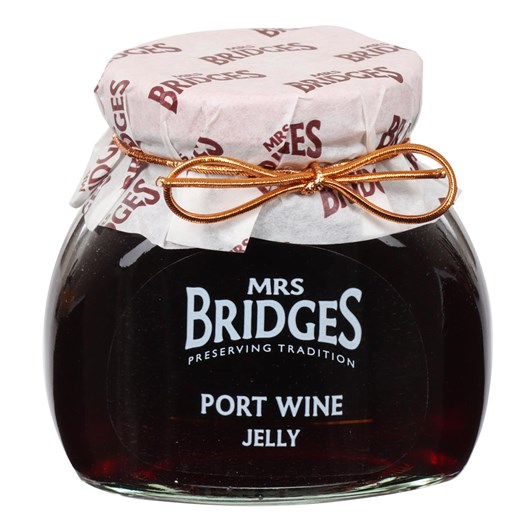 Mrs Bridges Port Wine Jelly 340g