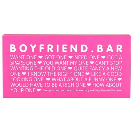 Bloomsberry Boyfriend Milk Chocolate Bar 100g