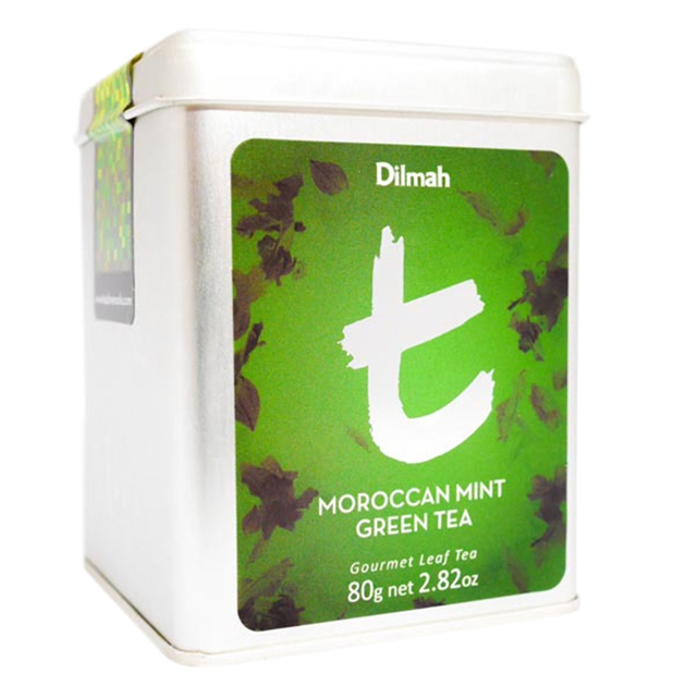 Dilmah Moroccan Mint Green Leaf Tea -