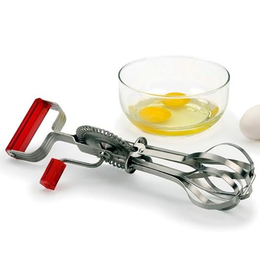 RSVP Endurance Egg Beater, red handle