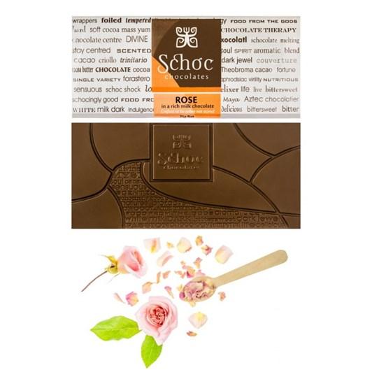 Schoc Rose Milk Chocolate Tablet