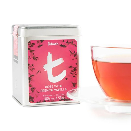 Dilmah Rose with French Vanilla Leaf 100g